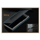 """""""Mofi"""" Rui sērijas Samsung Galaxy Note 3 Neo N750 melns ādas atvērams futrālis"""