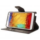 Samsung Galaxy Note 3 Neo Mercury Sonata atvērams brūns ādas maciņš