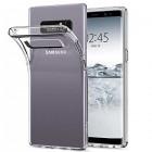 """Samsung Galaxy Note 8 (N950F) """"Bullet"""" dzidrs (caurspīdīgs) cieta silikona TPU pasaulē planākais apvalks"""