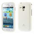 Samsung Galaxy S Duos 2 S7582, S Duos S7562, Trend S7560, Trend Plus S7580 Mercury balts cieta silikona (TPU) apvalks