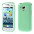 Samsung Galaxy S Duos 2 S7582, S Duos S7562, Trend S7560, Trend Plus S7580 Mercury piparmētru cieta silikona (TPU) apvalks