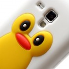 Samsung Galaxy S Duos S7562 (Samsung Galaxy S Trend S7560) rotaļīgs silikona apvalks pingvīns