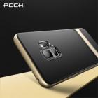 """Samsung Galaxy S9 (G960) """"Rock"""" Royce pastiprinātas aizsardzības melns apmales zeltā krāsā apvalks"""