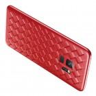 "Samsung Galaxy S9 (G960) ""Baseus"" Weaving sarkans cieta silikona apvalks"