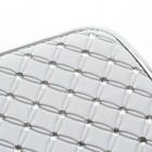 Samsung Galaxy Trend II S7570 elegants balts futrālis ar spīduļiem