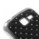Samsung Galaxy Trend II S7570 elegants melns futrālis ar spīduļiem