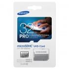 """Samsung"" Pro MicroSD atmiņas karte 32 Gb, 10 klase ar SD adapteri"