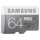"""Samsung"" Pro MicroSD atmiņas karte 64 Gb, 10 klase ar SD adapteri"