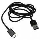 Samsung USB Type-C EP-DG970BBE melns vads 1 m. (origināls)