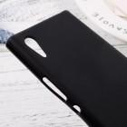 Sony Xperia XA1 cieta silikona (TPU) melns apvalks