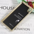 Sony Xperia XA1 Mercury zelta cieta silikona (TPU) apvalks