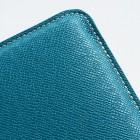 Universāls zils ādas 7 collas planšetdatoru maciņš