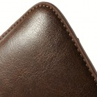 Brūna universāla ieliktņa ādas - futrālis (L+ izmērs)