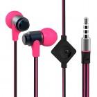 """""""Wallytech"""" ausīs ieliekamās rozā austiņas (melnā)"""