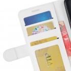 Xiaomi Mi 8 atvēramais ādas balts maciņš (maks)
