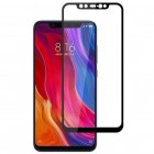 Xiaomi Mi 8 Mocolo Tempered Glass melns ekrāna aizsargstikls