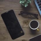 """Greznais """"Nillkin"""" Qin sērijas ādas atvērams melns Xiaomi Pocophone F1 maciņš"""
