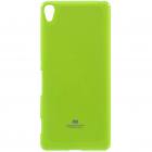 Sony Xperia XA Mercury zaļš cieta silikona (TPU) apvalks